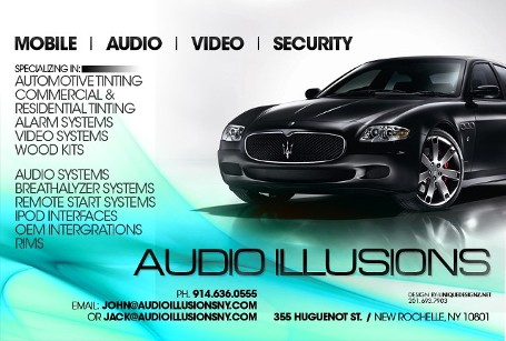 Audio Illusions-Car Electronics-Car Security-Commercial -Residential